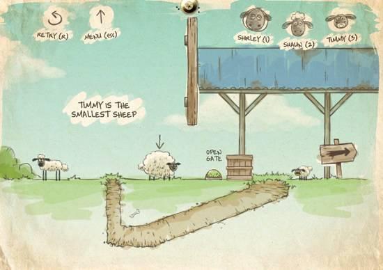 Jogo Online das Ovelhas (Home Sheep Home)